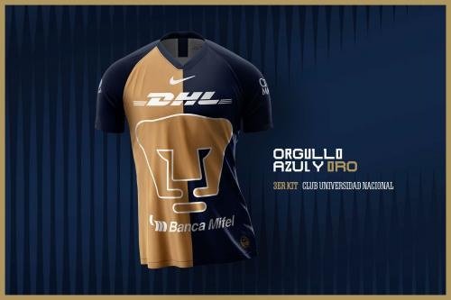 3er kit Temporada 2019-2020 | Club Universidad Nacional