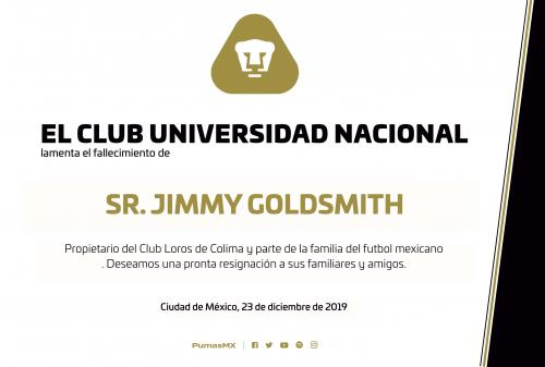 Sr. Jimmy Goldsmith, descanse en paz