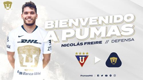 Nicolás Freire, nuevo defensa del Club Universidad