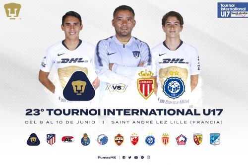 Los Pumas S17 participarán en el 23 Tournoi International de Football